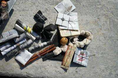 Mykonos Biennale  -  Shaman's Antidote Box - screen shot