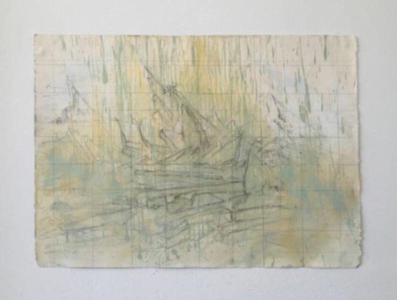 Mykonos Biennale  -  Study on the sea of ice (after David Caspar Friedrich) - screen shot