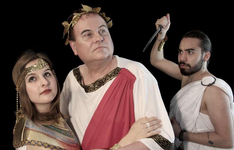 Mykonos Biennale 2015 - Film Festival -  Five Lovers Down - Caesar & Cleopatra - Alle Drei  - screen shot