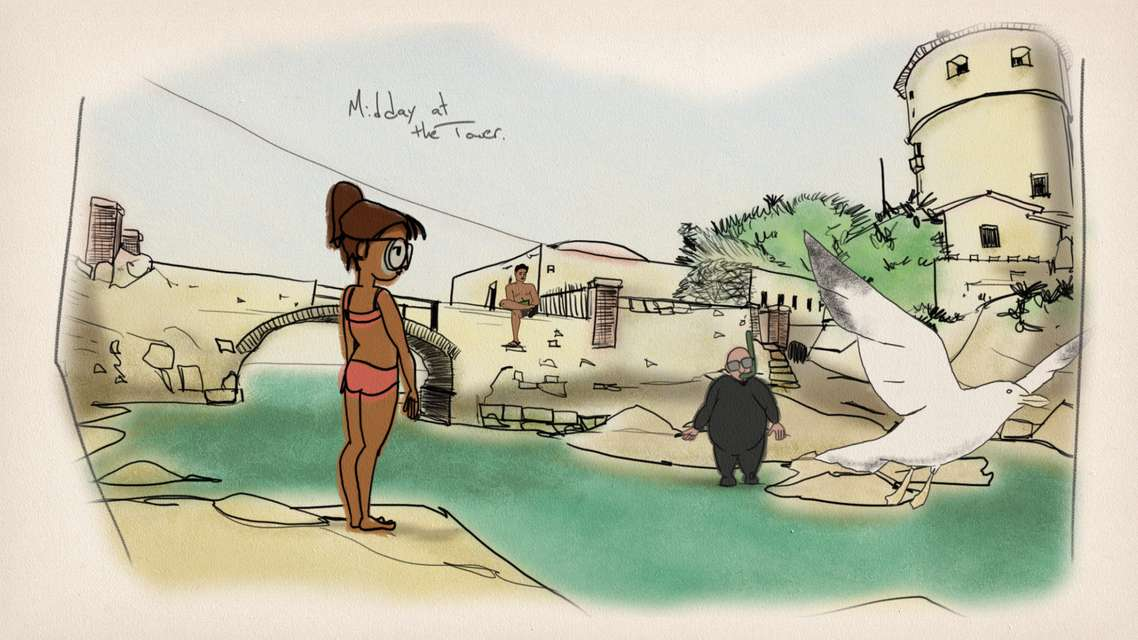 Mykonos Biennale 2015 - Film Festival -  Isola del Giglio - screen shot