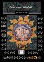 Sky Sun ,Tile Sun Poster