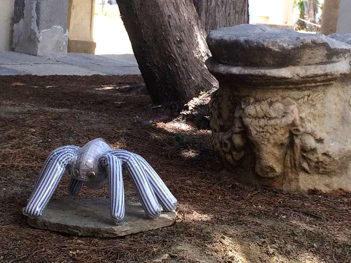 Mykonos Biennale  -  Spider - screen shot