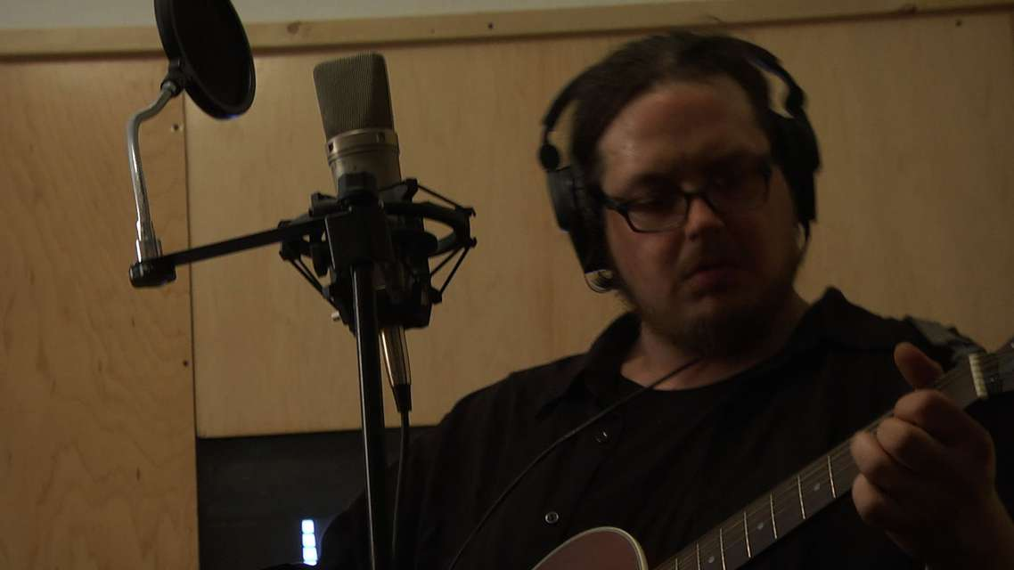 Mykonos Biennale 2015 - Film Festival -  Jesse Cohen in the Recording Studio - screen shot