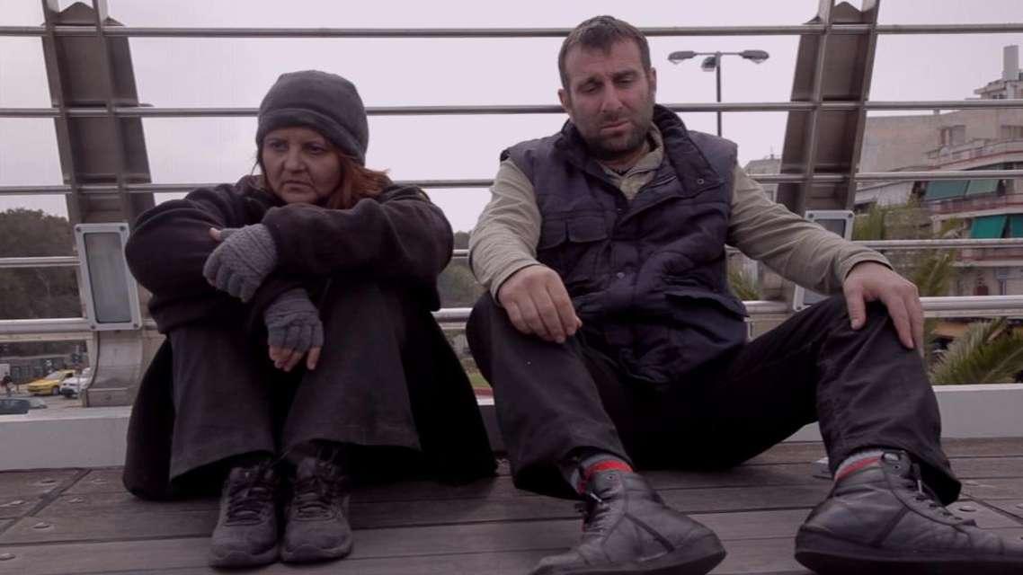 Mykonos Biennale 2015 - Film Festival -  The outcasts of the Calatrava Bridge - screen shot
