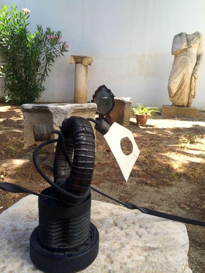 Mykonos Biennale  -  Force - screen shot