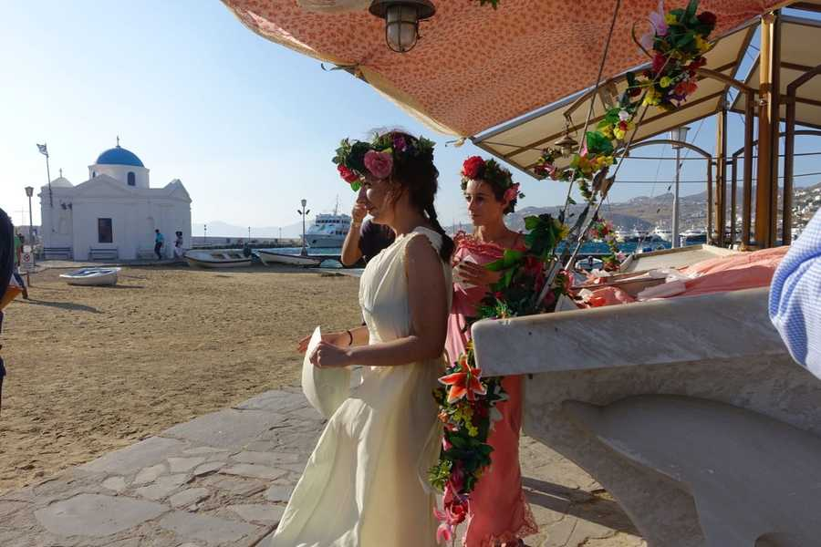 Mykonos Biennale -  - The Flower Girls