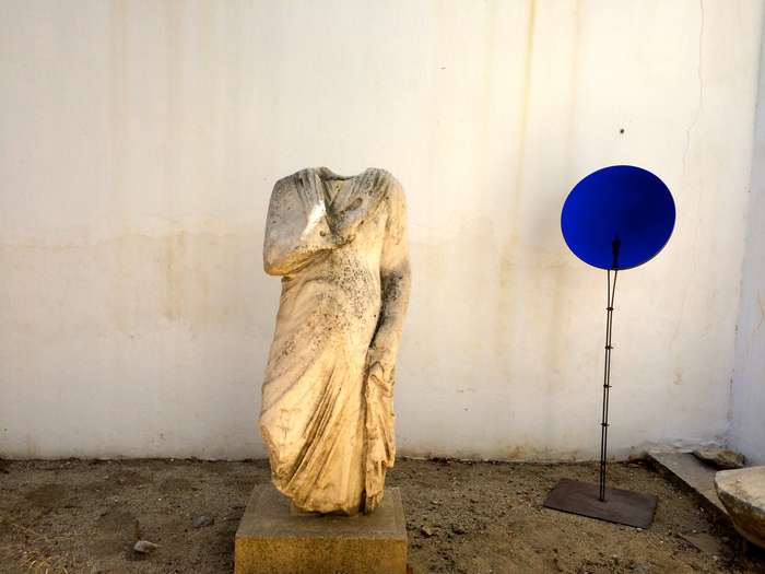 Mykonos Biennale  -  Cosmos - screen shot