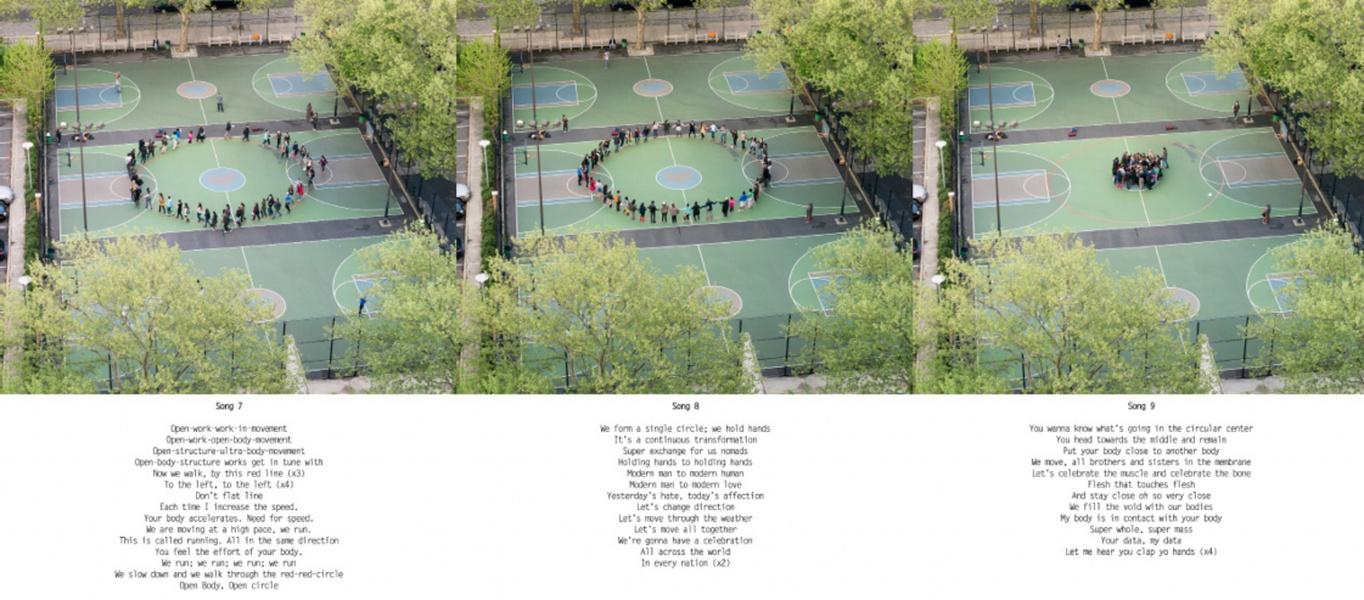 Mykonos Biennale  -  The Open Body -  Songs 7 to 9  - screen shot
