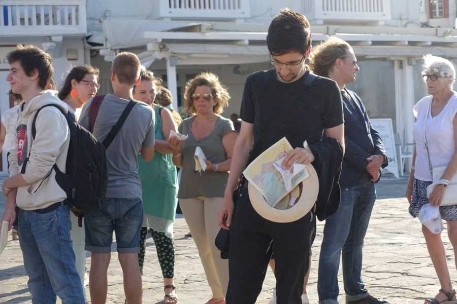 Mykonos Biennale -  - Performance Art at Old Harbour