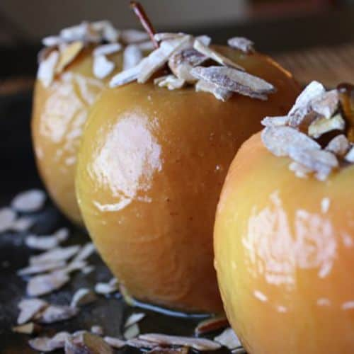 Sous vide apples