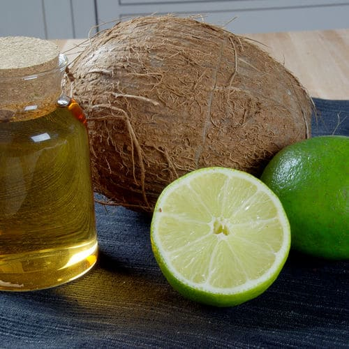 Lime coconut infused white balsamic vinegar