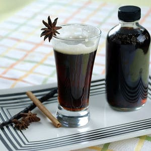 Homemade root beer syrup