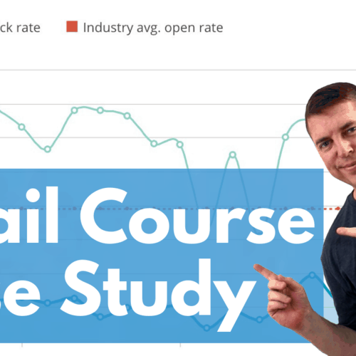 Email course case study
