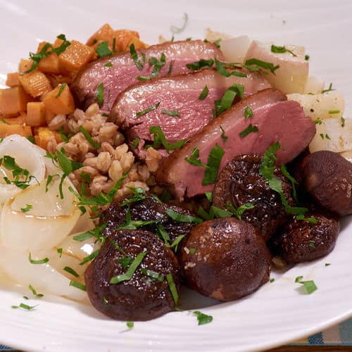 Sous Vide Duck Breast image link
