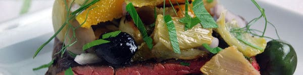 Sous Vide Tri-Tip Recipe with Roasted Fennel and Orange Salad image