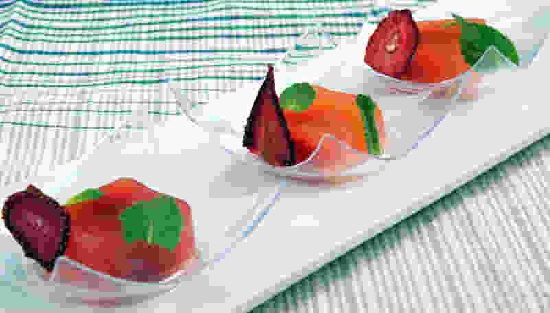 草莓代iquiri琼脂凝胶