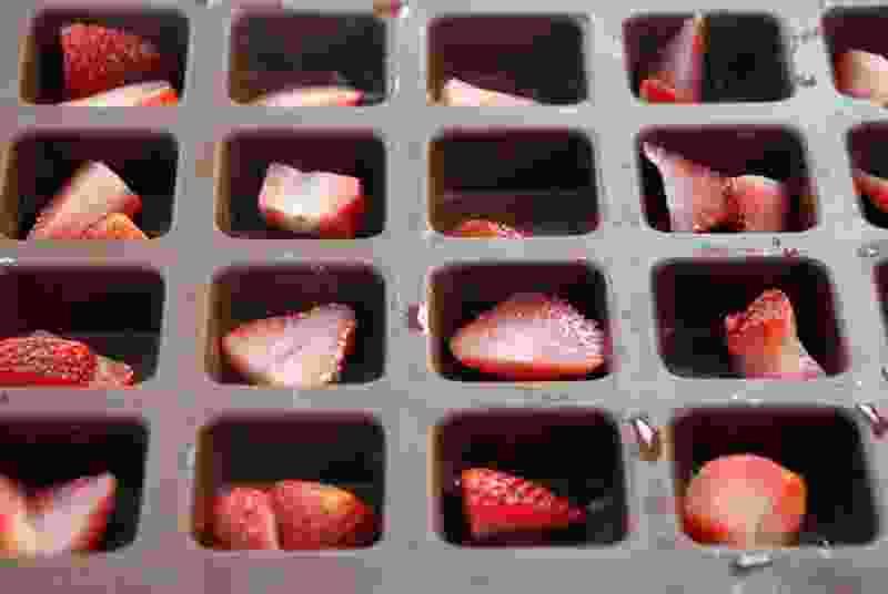 草莓代iquiri琼脂凝胶浆果