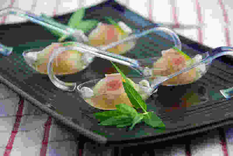 哈密瓜甜瓜汤派对球体