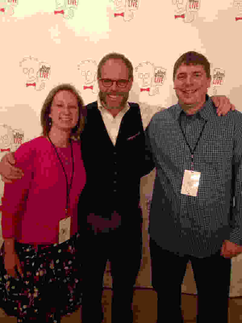 Alton brown jason logsdon event