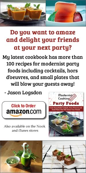 Party foods book side
