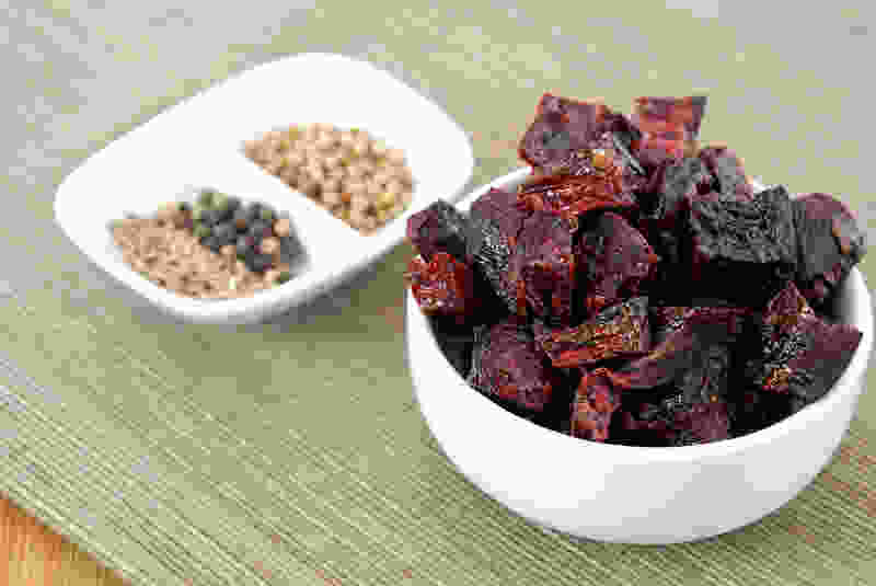 Roasted beet infused vinegar