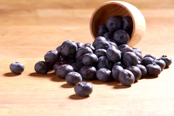 Sous vide blueberries