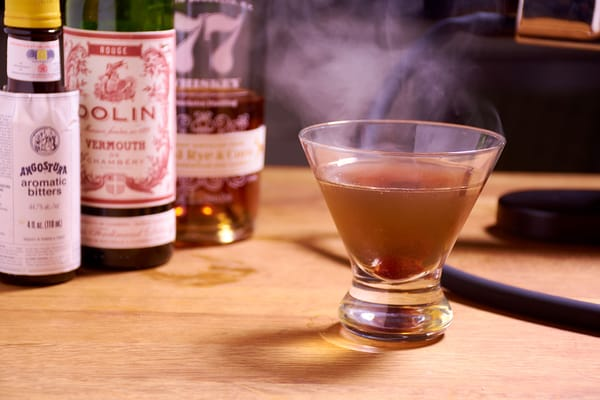 Smoked manhattan released