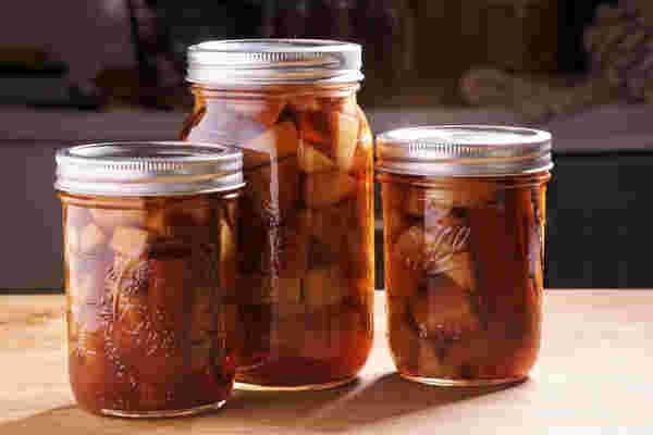 真空蒸煮苹果派波旁威士忌