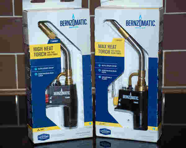 Bernz0matic 2 boxes