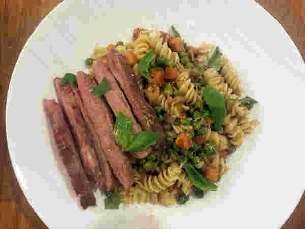真空烹调猪肉分钟牛排1