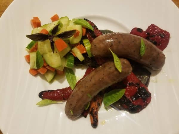 Sous vide sausage peppers 18