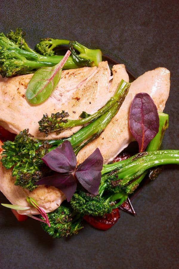 Sous vide chicken broccoli 8