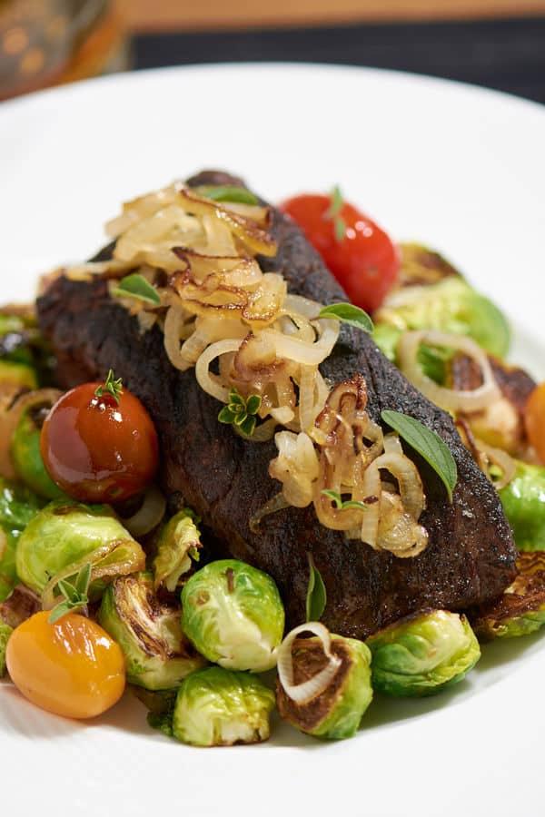 Sous vide Denver Cut Steak 2