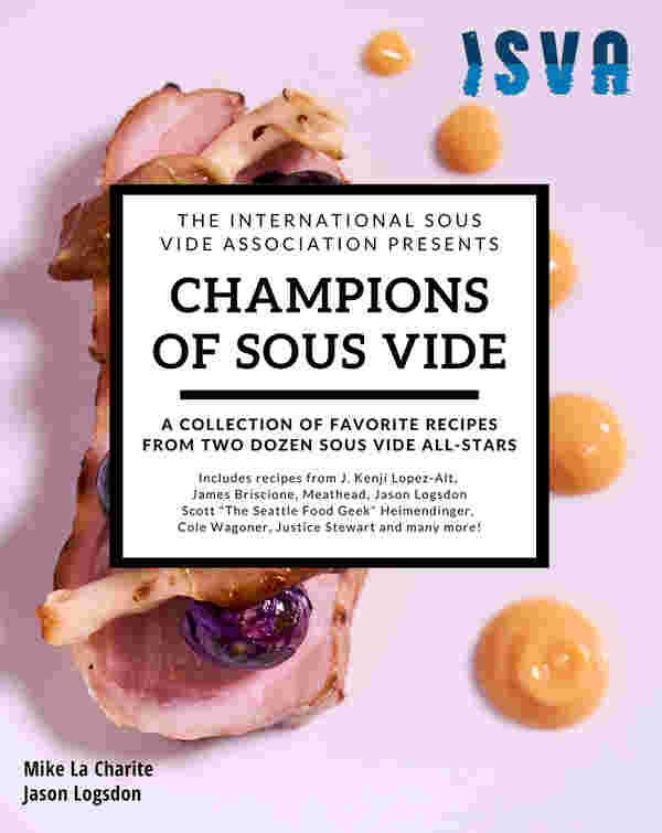 Champions of sous vide front cover