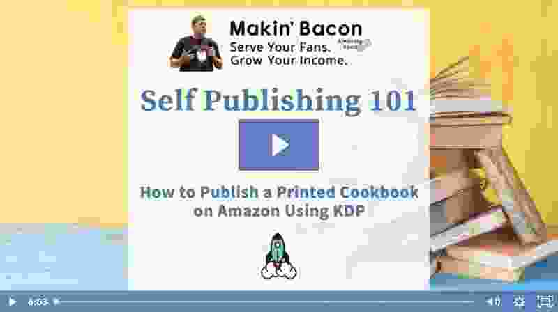 Self publishing 101 video grab
