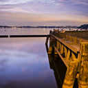 Richard Fadera - Sunset at Coulon Memorial Beach Park, WA