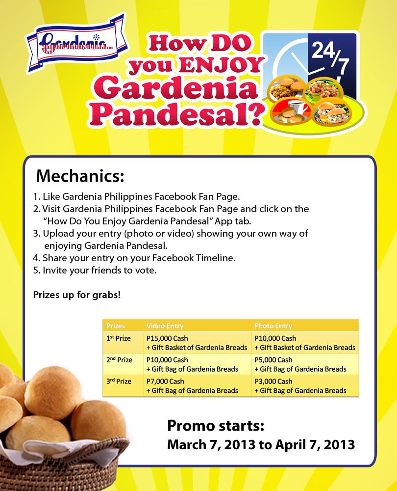 gardenia bread promotion