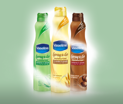 Vaseline® Spray & Go Sweeps