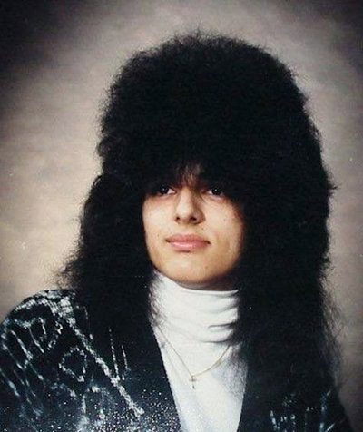 tag your 80s hair pics