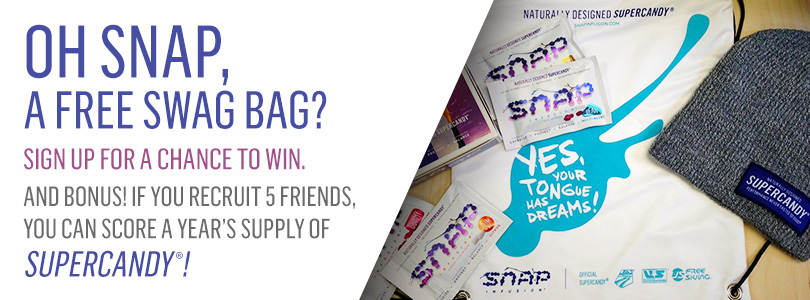 Snap Infusion: Win a supply of SUPERCANDY® for a year!