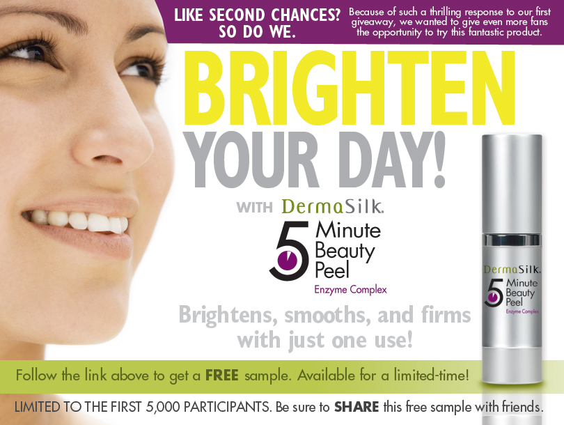 FREE DermaSilk 5 Minute Beauty...