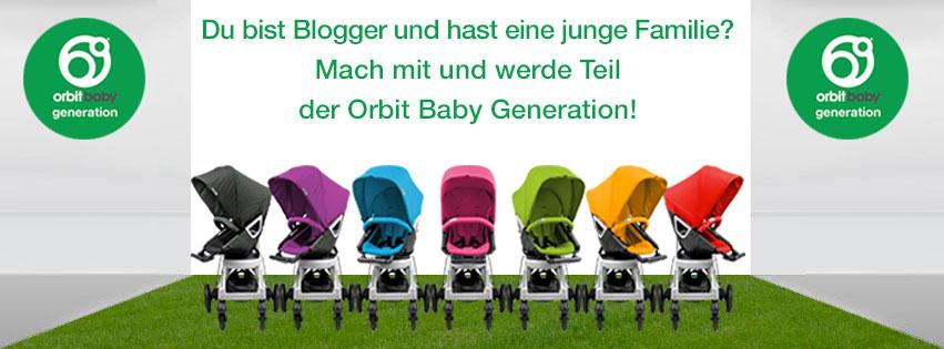 """Markenbotschafter """"Orbit Baby Generation"""""""