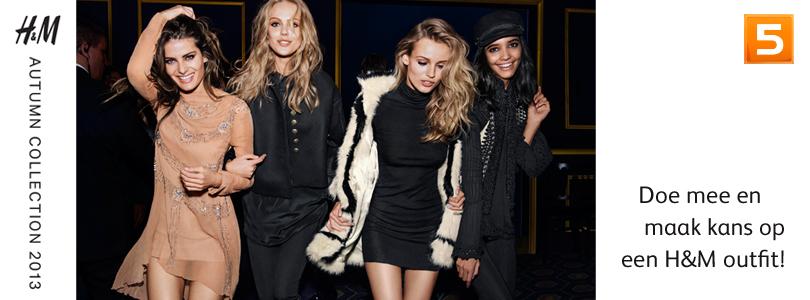 H&M lanceerde haar Autumn 2013 Collection met een heuse catwalk show, tijdens welke Fashion Week?