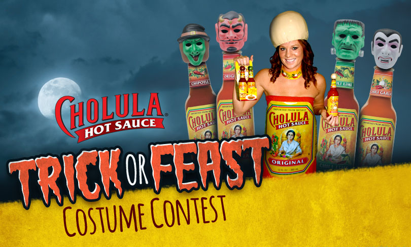 cholula halloween costume contest