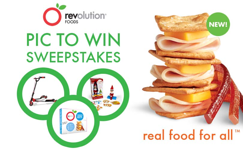 Revolution Foods Pic to Win Sweepstakes!