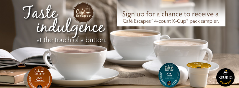 FREE Café Escapes 4-count K-C...