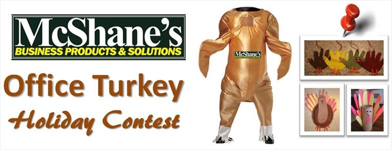 Office Holiday Hand Turkey Contest