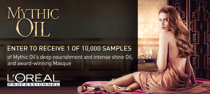 freebies without registration Free L'Oreal Mythic oil Sample (FB like required, Canada)