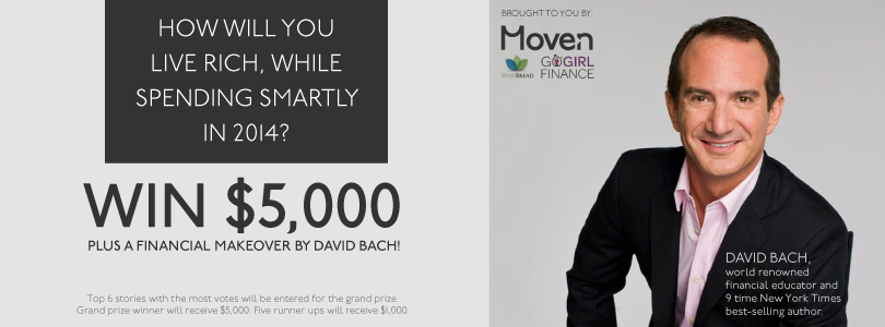 Moven: Win $5,000 and Free Financial Makeover by David Bach!
