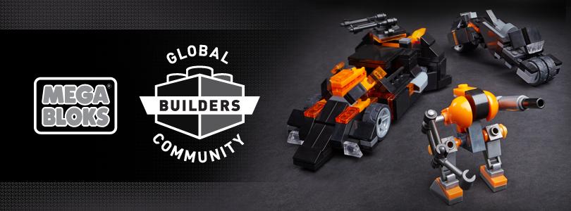 Join the MEGA BLOKS Global Builders Community today  <br